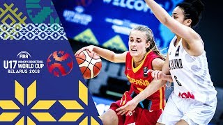LIVE 🔴- New Zealand v Spain - FIBA U17 Women's Basketball World Cup 2018