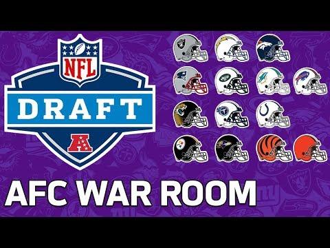 Predicting Every AFC Team's First Three Draft Picks | NFL