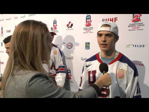 Interview Troy Terry - 2017 IIHF