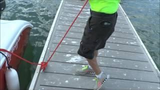 Best Dock Line Handler EVER