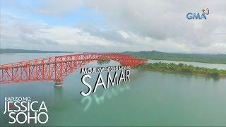 Kapuso Mo, Jessica Soho: Banana boat ride sa ilalim ng San Juanico Bridge sa Samar