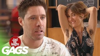 Hairy Pranks - Best of Just For Laughs Gags