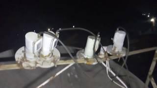 C BAND - KU BAND INTERNATIONAL SIGNAL RECEPTION RADIO TELESCOPE