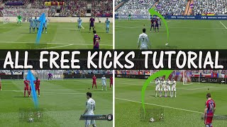 FIFA 15 FREE KICK TUTORIAL / How to score goals everytime / ALL Free Kicks Tutorial / FUT & H2H