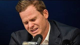 In full: Tearful Steve Smith apologises for ball-tampering scandal | ITV News
