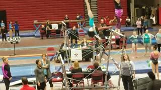 🤩Level 10 Region 3 Gymnastics Championships🙌 2nd Place Uneven Bars 🥈