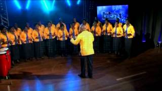 KENYA POWER CHOIR performing 'Charonyi Ni Wasi' on THE KWAYA