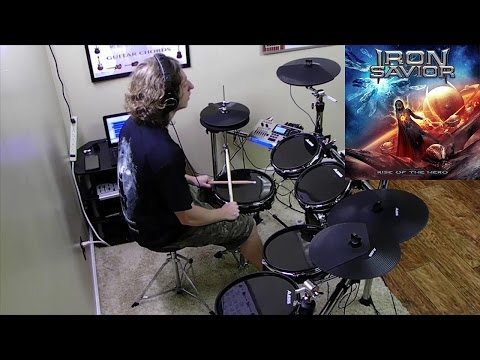 IRON SAVIOR - Revenge of the Bride - Drum Cover by Christian Carrizales