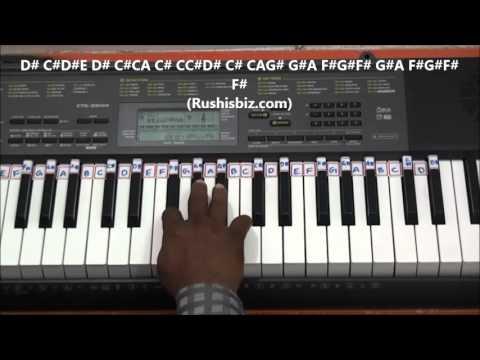 Baharon Phool Barsao... Piano Tutorial (Suraj).... (FULL SONG)
