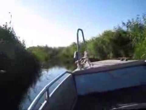 вылетел из лодки видео