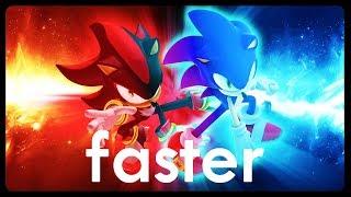 FASTER - Sonic & Shadow Parody Song | premydaremy