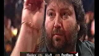 Hankey vs Fordham Darts World Championship 2001 Semi Final Hankey vs Fordham
