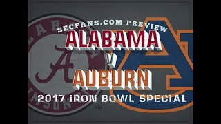 2017 Iron Bowl - Alabama vs Auburn Preview & Predictions - College Football