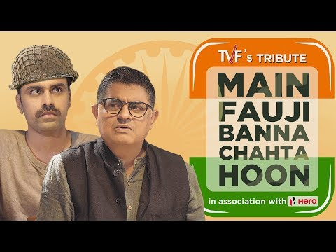 Xxx Mp4 TVF 39 S Tribute Main Fauji Banna Chahta Hoon Independence Day Special 3gp Sex