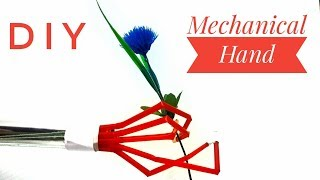 How To Make Robotic Arm - Easy And Simple DIY Robotic Mechanical Hand Tutorial