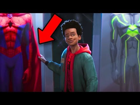 Xxx Mp4 Into The Spider Verse BREAKDOWN Spiderman Easter Eggs Details You Missed 3gp Sex