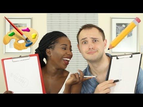 COUPLES DRAWING CHALLENGE | AdannaDavid