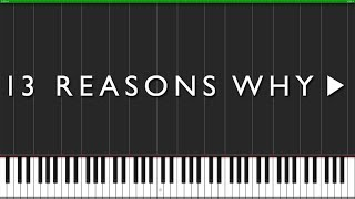 Only You - 13 Reasons Why [Piano Tutorial] (Synthesia) // FortePiano