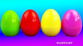 Learn Colors for Children with Slime Surprise Eggs Thomas & Friends Cars 2 Sesame Street