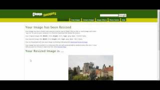 Resizing Images with change-images.com