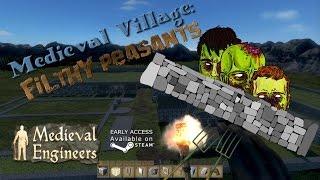 Medieval Engineers -  Village part 3