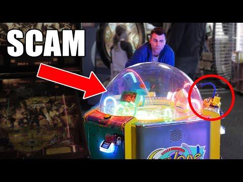 ARCADE SCAM SCIENCE not clickbait