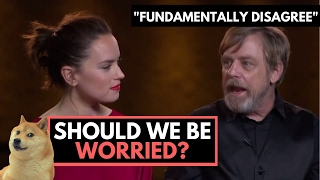 "Should Star Wars Fans Worry? Mark Hamill ""Fundamentally Disagrees"" with Luke"