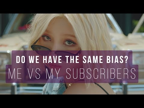 Do we have the same bias Me vs my subscribers