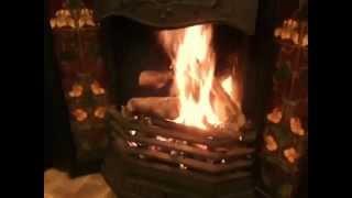 Open fire re-installed