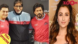 Shah Rukh Khan DEFENDS Big B and Aamir | Parineeti gets MIFFED with an entertainment portal & more