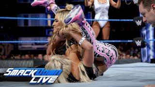 Natalya, Carmella & Tamina vs. The Riott Squad: SmackDown LIVE, Jan. 2, 2017