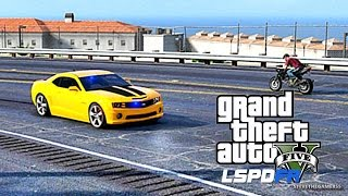 GTA 5 LSPDFR 0.3.1 - EPiSODE 31 - LET'S BE COPS - BAIT CAR (GTA 5 PC POLICE MODS)
