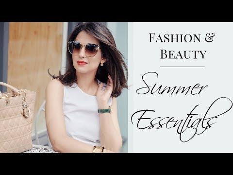 SUMMER ESSENTIALS | Fashion & Beauty | JASMINA BHARWANI