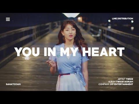 TWICE (트와이스) - You in My Heart (널 내게 담아) | Line Distribution