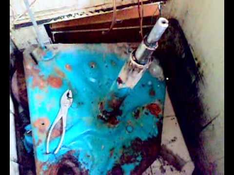 Trocando a vara de suspensão da lavadora brastemp antiga