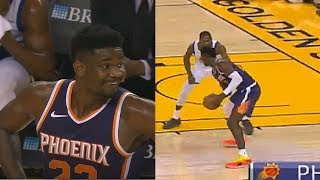 DeAndre Ayton Shows Kevin Durant He Can