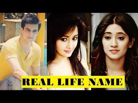 Real Life Name of yeh rishta kya kehlata hai Cast