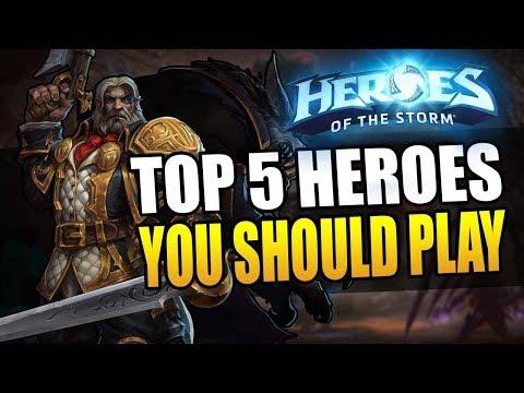 Top 5 Heroes Everyone Should Play