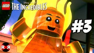 LEGO The Incredibles - REVELATIONS - PS4 Pro Walkthrough Gameplay Part 3