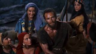 Moses meets Jethro's daughters -