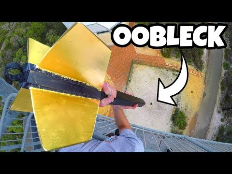 GIANT DART Vs. OOBLECK from 45m