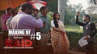 Making of Raid #5 - Fun On Sets | Ajay Devgn | Ileana D