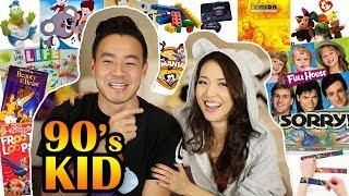 90's Kid TAG With Philip Wang! (from Wong Fu Productions)