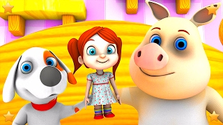 Chubby Cheeks | Kids Nursery Rhymes Collection | 3D Kindergarten Baby Songs by Little Treehouse