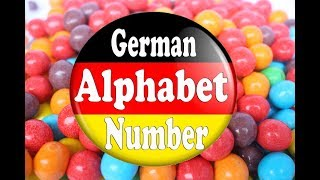 The German Alphabet and Number for Kids [Learn ABC German Alphabet and Number]