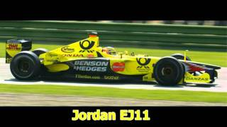 Top 10 Best Looking F1 Cars 2000-2009