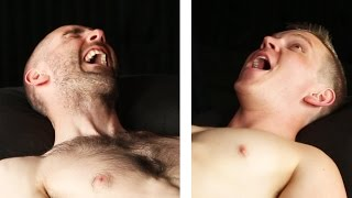 Men Get Their Arms Waxed For The First Time