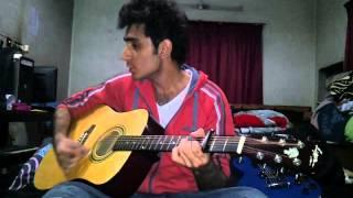 Jab Jab Tere Paas Mein Aaya Ek Sukoon Mila on Guitar