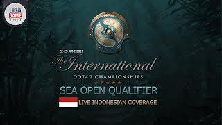 Dota 2 : Boom.ID , Evos , RRQ, Pandora @TI 7 SEA Open Qualifier #1
