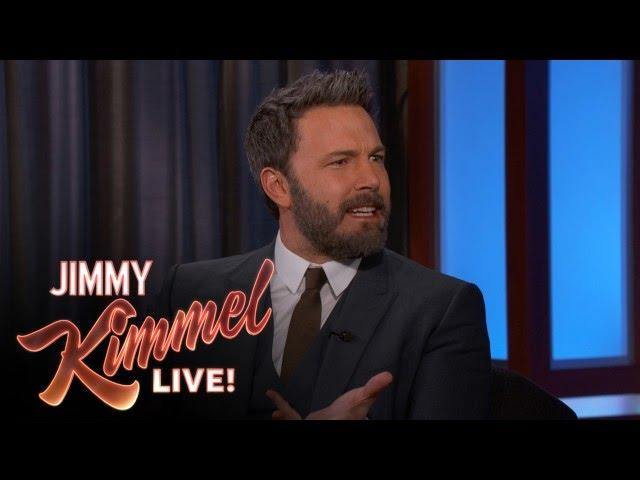 Ben Affleck on the Meryl Streep/Donald Trump Feud